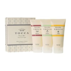 Tocca mini hand cream trio, $18