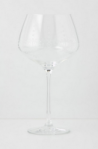Frosted Panes Red Wine Glass