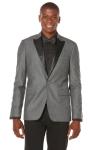 Brushed Twill Slim Fit Tux Jacket