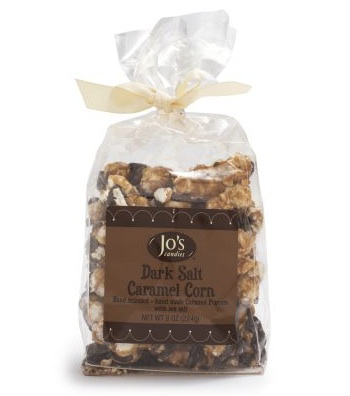 Jo's Candies Dark Chocolate and Sea Salt Caramel Corn