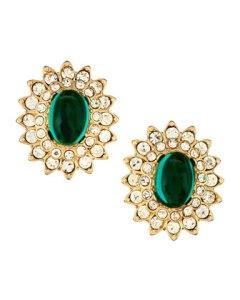 Kenneth Jay Lane earrings, $56