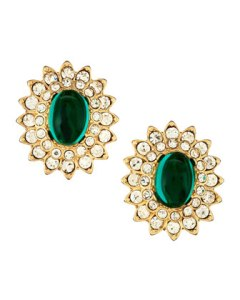 Kenneth Jay Lane earrings, $56
