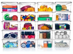 Container Store Shoe Boxes, $1.89 each