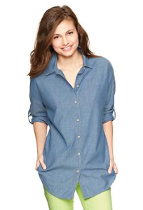 Gap 1969 chambray tunic