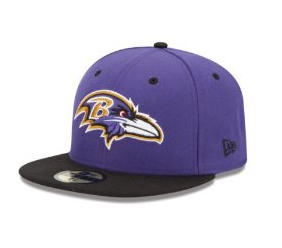 NFL Baltimore Ravens 59Fifty Fitted Cap