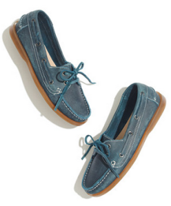 Bed stü Aunt Blanche Boat Shoes