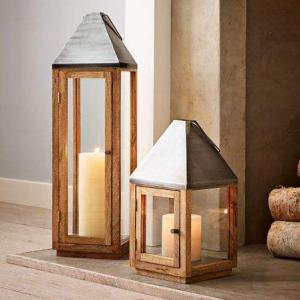 Wood + Metal Lanterns